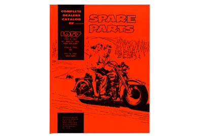 V-Twin 48-0314 - Spare Parts Book for Panhead