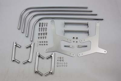 V-Twin 49-2504 - Chrome Saddlebag Guard Kit
