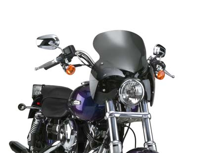 V-Twin 51-0280 - Wave Q R Windshield with Dark Tint