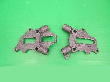 V-Twin 51-0528 - Rear Frame Axle Plate Set