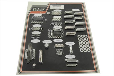 V-Twin 8308 CAD - Cadmium Stock Style Hardware Kit