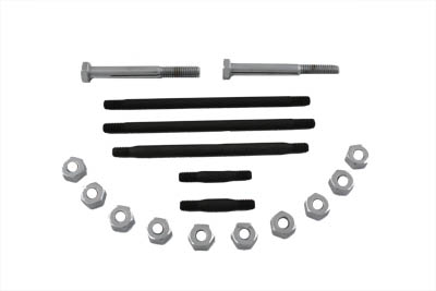 V-Twin 8619-17 - Engine Case Bolt Kit Chrome